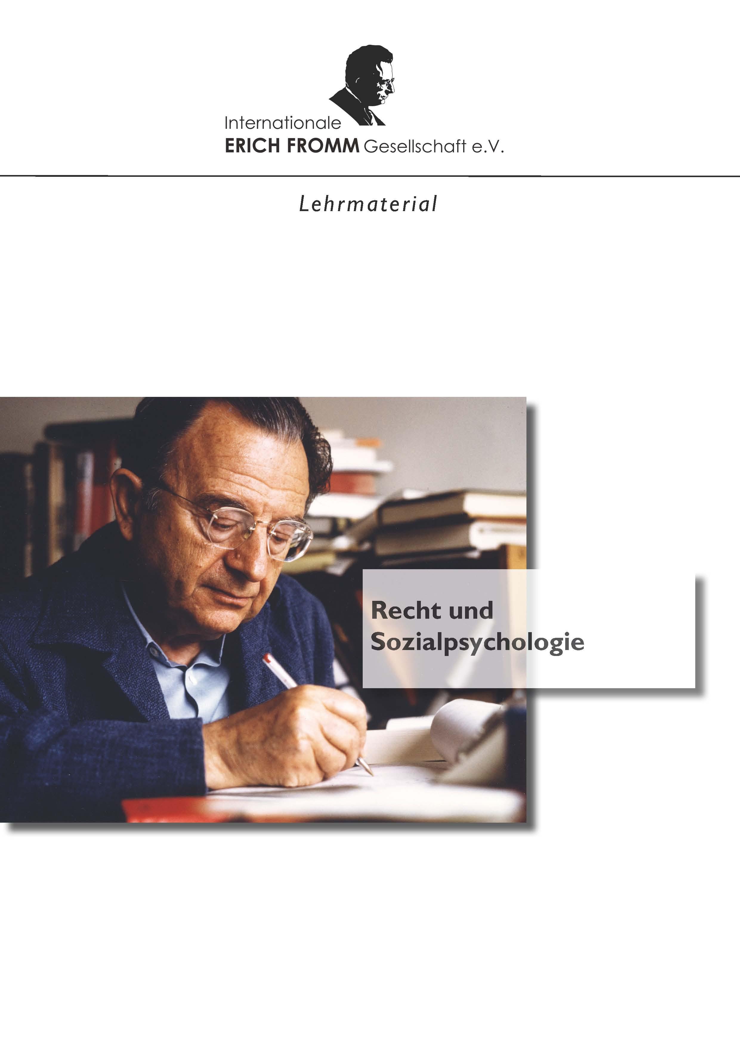 Recht und Sozialpsychologie (PDF)